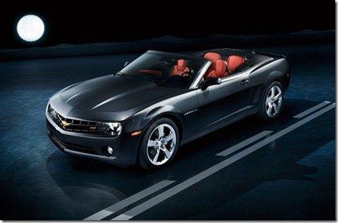 Chevrolet divulga mais imagens do Camaro conversível