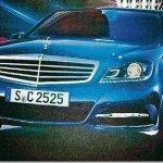Vazam imagens do Mercedes Classe C 2011