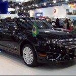 Galeria: Ford aproveita Salão para trocar o carro do presidente