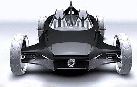 Volvo Air Motion Concept é movido a ar comprimido