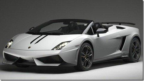 Lamborghini Gallardo LP570-4 Spyder Performante é apresentado em Los Angeles