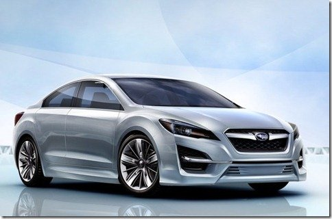 Subaru Impreza Design Concept adianta design dos próximos carros da marca japonesa