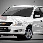 Chevrolet Celta 2012 terá leves mudanças visuais