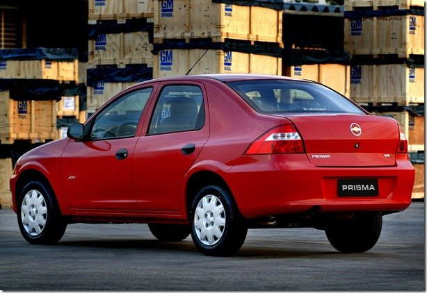 Chevrolet Prisma 1.0 pode ser descontinuado em 2011