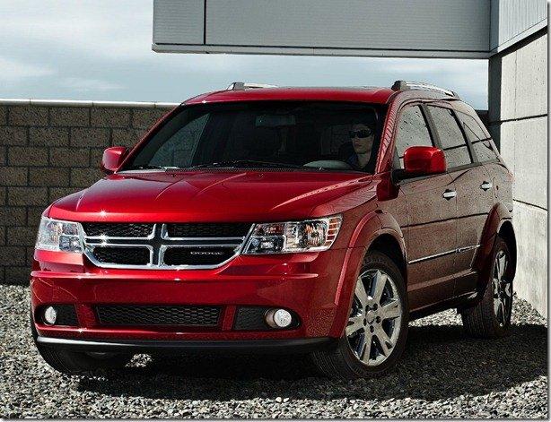 Dodge Journey pode se tornar Fiat Freemont