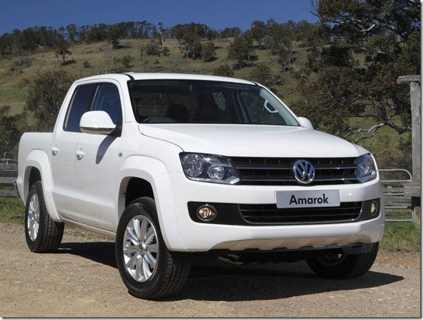 Volkswagen Amarok terá câmbio automático em 2011