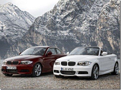 BMW Serie 1 Cabrio e Coupe 2011 recebem leves alterações