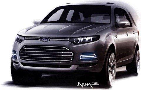 Novo Ford Territory tem primeira imagem divulgada