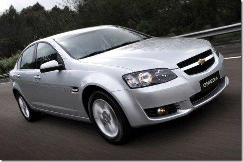 Chevrolet Omega volta ao Brasil por R$ 128.600