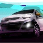Novo Kia Picanto tem teasers revelados