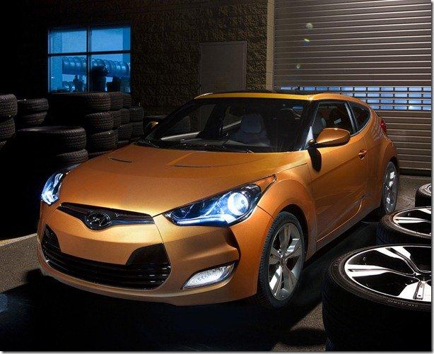 Este é o Hyundai Veloster 2012