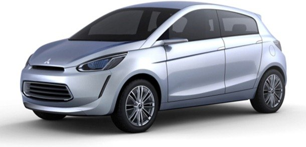 Primeira imagem do Mitsubishi Concept Global Small