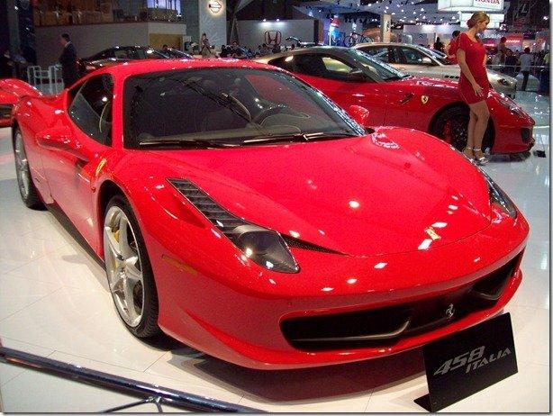 Vendas de carros importados crescem 144,1% em 2010