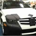 Mercedes Classe C Coupè é flagrado nos EUA