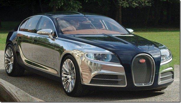 Bugatti estaria trabalhando em um sedã baseado no A8