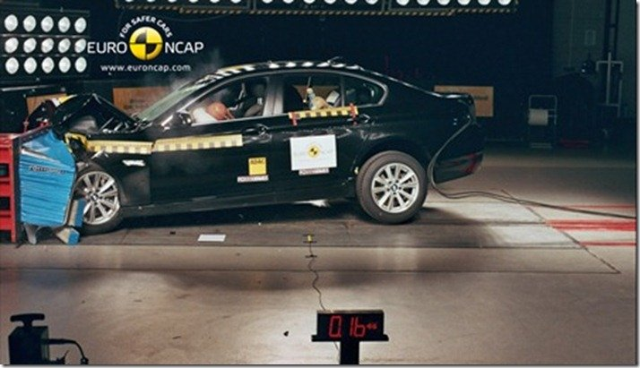 Euro NCAP divulga dados sobre os carros vencedores do ano de 2010