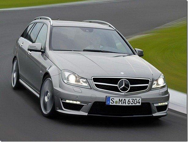 Mercedes mostra novo C63 AMG