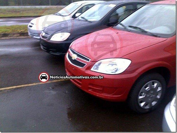 Informações sobre os Chevrolet Celta e Prisma 2012