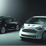 """Aston Martin Cygnet """"White"""" e """"Black"""" comemoram seu início de produção"""