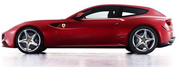 Eis a Ferrari FF (For Four) a substituta da 612 Scaglietti