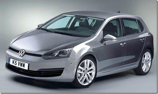 Volkswagen Golf VII confirmado para o fim de 2012