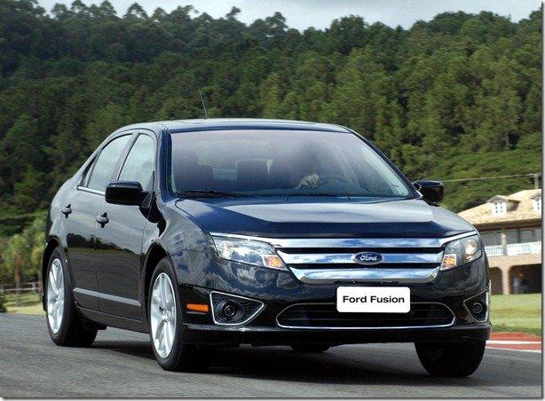 Ford Fusion se prepara para ser flex