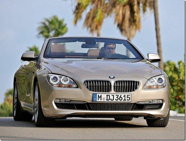 Novo BMW Série 6 conversível chega no segundo semestre