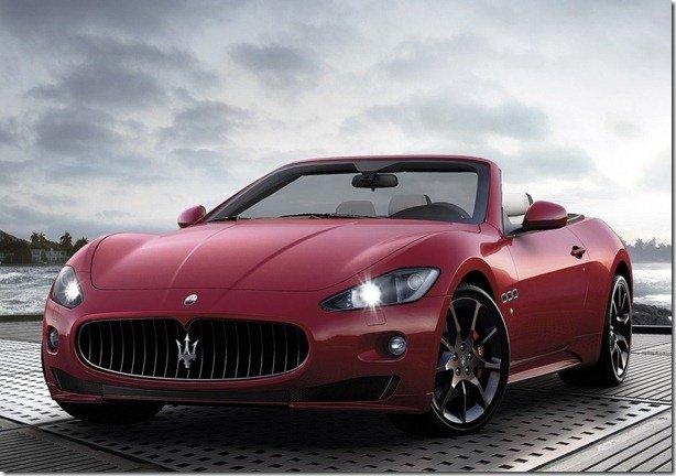 Maserati GranCabrio Sport será apresentasdo em Genebra