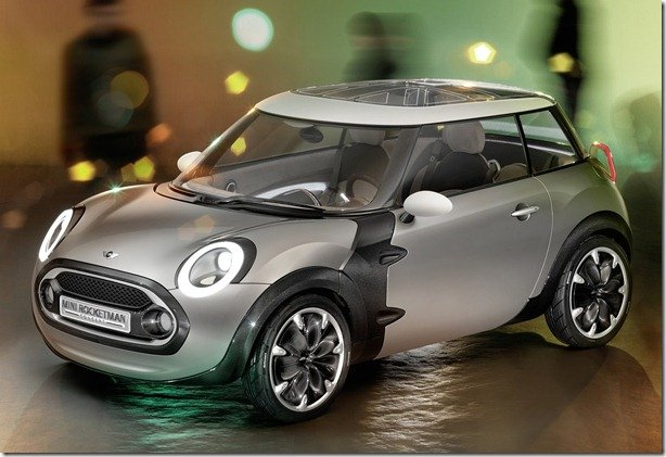 MINI Rocketman concept será apresentado em Genebra