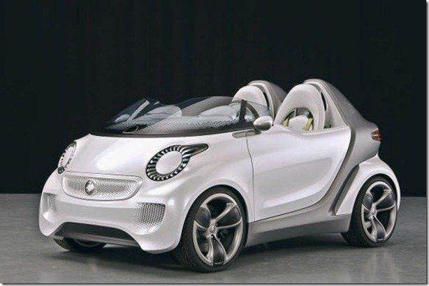 Smart levará para Genebra o conceito elétrico Forspeed