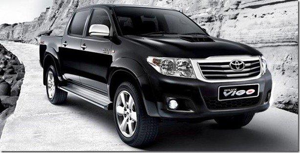 Toyota Hilux 2012 passará por reestilização