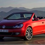 Volkswagen Golf Cabrio retorna da sexta geração do modelo
