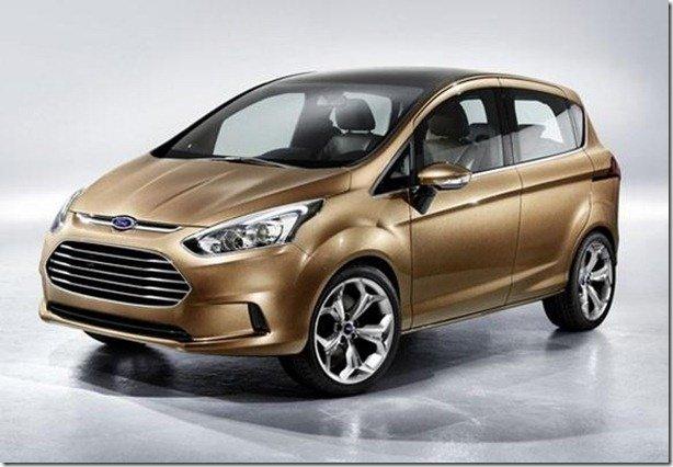 Vazam imagens da Ford B-Max