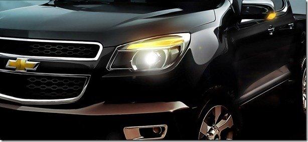 Chevrolet divulga a primeira imagem da Colorado, a substituta da S10