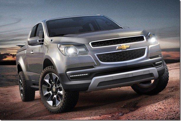 Chevrolet Colorado Show Truck antecipa a nova S10