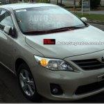 Novas informações sobre o Toyota Corolla 2012
