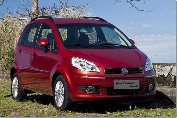Fiat Idea terá série comemorativa aos 150 anos da unificação italiana