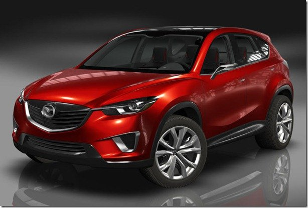 Mazda Minagi antecipa o novo crossover da marca japonesa