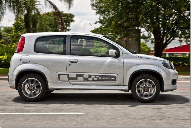 Fiat divulga fotos de todas as versões do Uno 2p
