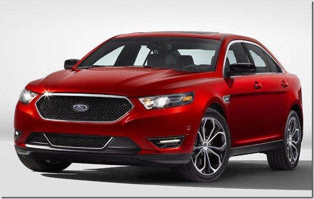 Ford apresenta Taurus 2013 – modelo será apresentado no Salão de Nova York