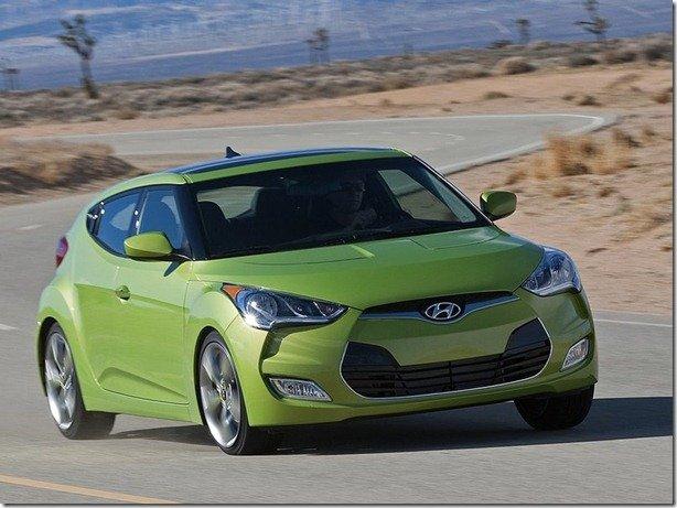 Hyundai Veloster terá motor de 208cv