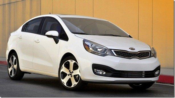 Kia apresenta a versão ocidental do Kia Rio Sedan