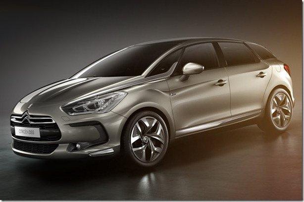 Citroën DS5 estará em Xangai