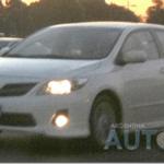 Corolla S 2012 é flagrado em testes na Argentina
