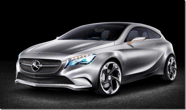 Mercedes-Benz Concept A-Class estará em Xangai