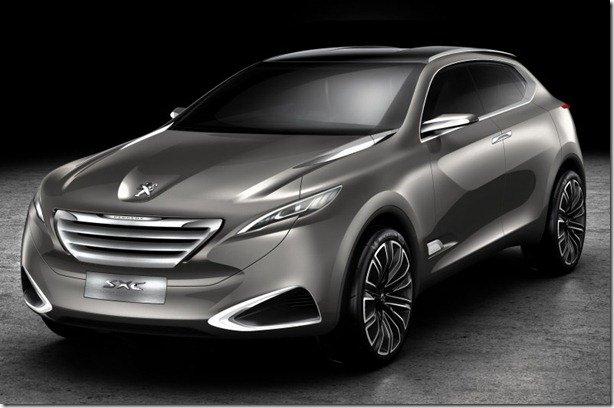 Peugeot SxC Concept  será mostrado em Xangai