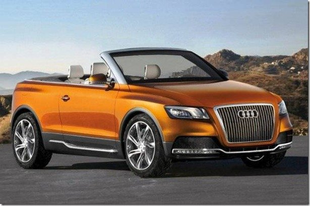 Audi estuda o lançamento do Q5 Cabriolet