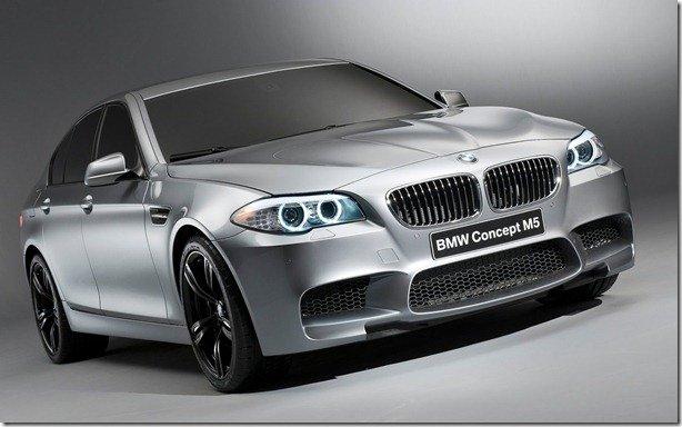 Novo BMW M5 poderá contar com tração integral