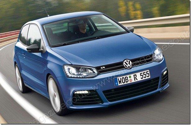 Volkswagen Polo terá reestilização em 2013 e versão R