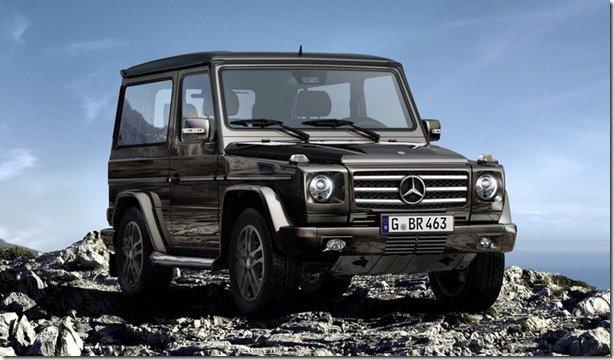 """Mercedes Classe G """"comemora"""" a proximidade de sua aposentadoria"""